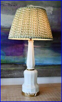 A Pair of Mid 20th C Large Danish Heiberg Soholm Side Table Lamps