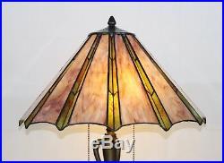 Art Deco Tiffany Table Lamp- Large