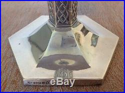 Arts & crafts Large Sterling Silver Table Lamp The Goldsmiths & Silversmiths