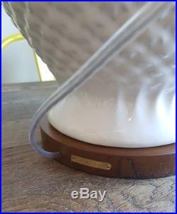 BNWT LARGE Ralph Lauren Home Table Lamp White Artichoke Ginger Pineapple NEW