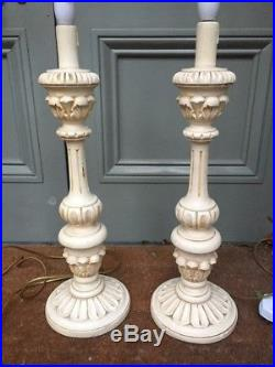 COUNTRY HOUSE SALE, pair huge, v large oversized baroque table lamps, rococo, louis
