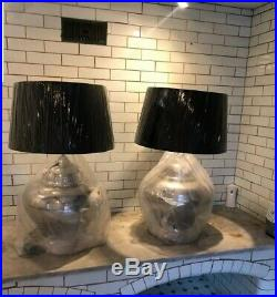 Coach House Large Statement Lamps x2