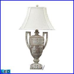 Dimond Lighting Greek Key Large LED Table Lamp in Allesandria 93-9197-LED