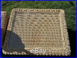 Excellent Superb Quality Rattan Conservatory Furniture 1 ONLY Large Table & Lamp