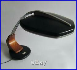 FASE DESIGN CLASSIC VINTAGE LAMP LARGE RETRO TABLE DESK 1960s 70s