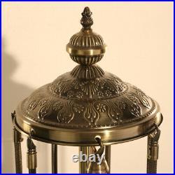 Floor Lamp Turkish Moroccan Style Mosaic Multicolour Light 7 Large Globe