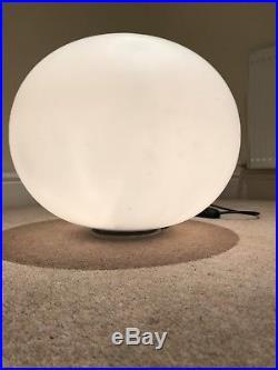 Flos Glo-Ball Basic 2 Large Floor Light. Jasper Morrison Design. Beautiful Cond
