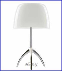 Foscarini Lumiere Table Lamp Large, Aluminum Finish BASE ONLY