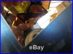 Habitat RIBBON Copper Large Metal Table Lamp 368322 RRP £160 (PH603)