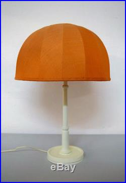 Josef Frank for Swedish Tenn large table lamp with orange fabric screen