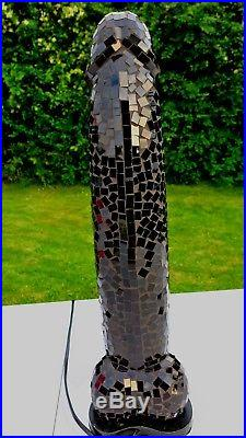 LARGE PHALLIC PENIS TABLE LAMP (50cm) BLACK