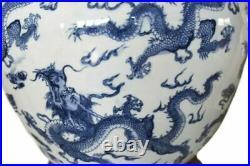 LAUREN RALPH LAUREN Dragon Print Porcelain Floral Large Table Lamp, New