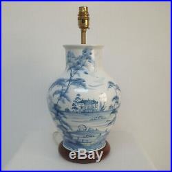 Large 41cm / 16 Deborah Sears ISIS Ceramics Studio Pottery Palladian Table Lamp