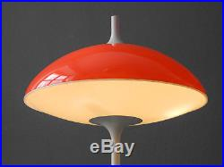 Large 60s Pop Art Space Age table lamp by Temde Made in Switzerland