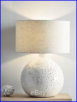 Large Cream Dot Cox And Cox Lamp