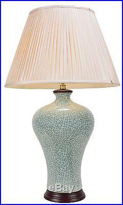 Large Oriental Ceramic Porcelain Table Lamp M10465 Chinese Mandarin Style