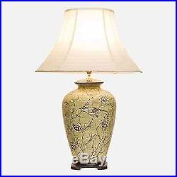 Large Oriental Ceramic Porcelain Table Lamp (M8771) Chinese Mandarin Style