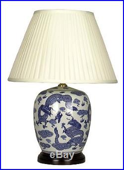 Large Oriental Ceramic Table Lamp (M7396) Chinese Mandarin Style for any room