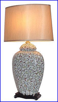 Large Oriental Ceramic Table Lamp (M9546) Chinese Mandarin Style for any room