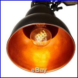 Large Table/Floor Lamp Swing Swivel Arm Study Bedroom Reading H137cm Wooden Base