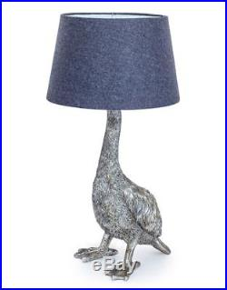 Large Table Lamp Retro Funky Antique Style Fade Shade Bedroom
