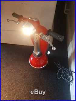 Large Vespa Table Lamp Retro Vespa Light