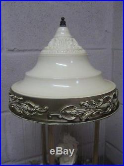 Large Vintage 1960s/1970s Corinthian Style Rain Lamp