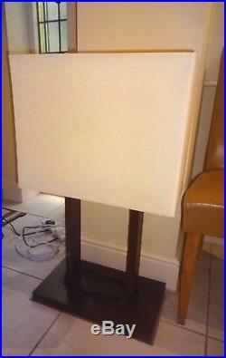 Large stunning Natuzzi table lamp floor lamp designer bespoke vintage lamp