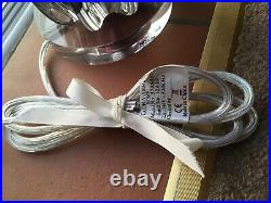 Laura Ashley VERY LARGE Purple Glass Table Base Lamp LAST ONE FREE POSTAGE