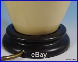 MOORCROFT Large Table Lamp Base OCTOBER Falling Leaves L25/9 Seconds