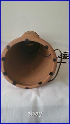 Mid Century Modern Pottery Art Nouveau style LargeTable Lamp