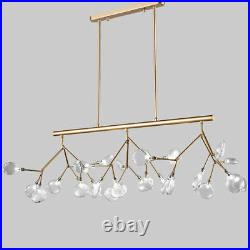 Modern Tree Branch Large Pendant Light Dining Table Ceiling Lamp&Glass Shade New