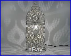 New Moroccan Contemporary Decorative Table Lantern Corner Lamp Large Floor Light