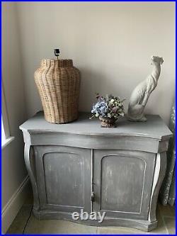 OKA Tanjore Rattan Table Lamp, Large Grey Brand new in box