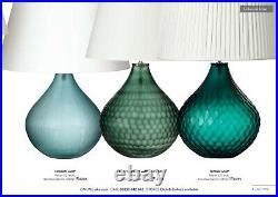 OKA Tupelo Table Lamp Large Green NEW! Inc Lamp Shade
