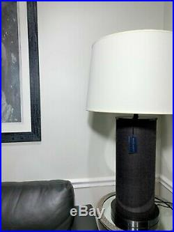 Ralph Lauren Lighting Large Designer Beckfod XL Oversized Brown Table Lamp