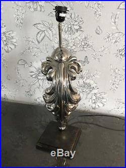 Rare Large 2 Foot Eichholtz Reynaud Beau Table Lamp USED