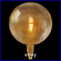 Retro Vintage Globe Cage Light Bulb G380 OVERSIZE LED Industrial Edison XL Lamp