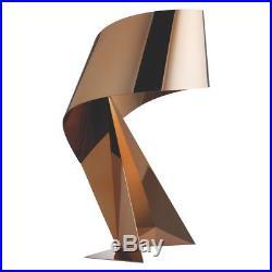 Ribbon Copper Large Metal Table Lamp 368322 RRP £160