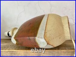 Sculptural Nanceddan, Tremaen, Studio Pottery Table Ex Large Lamp Base