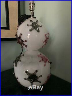 Stunning Ex Display William Yeoward Percy large table lamp, lighting, rrp £1495