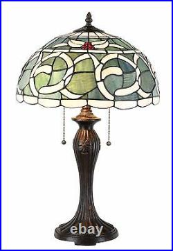 Tiffany Table Lamp 14 inch wide