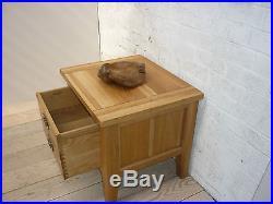 Vancouver Premium Solid Oak Lamp/coffee Tables Large Vxa004