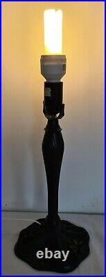 Vintage Large Tiffany Style Table Lamp