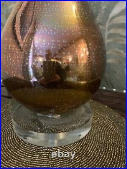 Wonderfull Julian Chichester Gold Glass extra large table lamp
